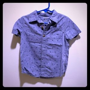 Toddler button down T